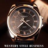 Quarz-Uhr-heiße verkaufenmann-Uhr-wasserdichte Form-Armbanduhr des Geschäfts-H336