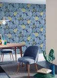 Papel tapiz moderno precios baratos de Pekín la decoración del hogar de vinilo de PVC de pared 3D con hojas de papel
