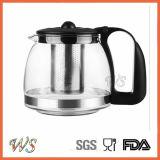POT del tè della caldaia di tè degli articoli per la tavola di prezzi all'ingrosso ed insieme di vetro della caldaia