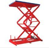 Table élévatrice hydraulique stationnaire chaude de la vente 500kg