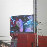 P6 DEL extérieure polychrome annonçant l'écran de visualisation