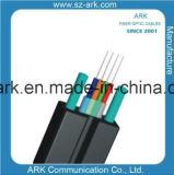 Arquear-Tipo cable de cinta óptico de la fibra de la gota