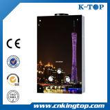 Tankless Warmwasserbereiter, weißes Beschichtung-Panel grosser LCD