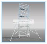 安全なセリウムは足場に装飾のためのアルミニウムタワーを渡した