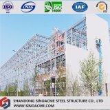 Sinoacmeは金属フレームの鉄骨構造の流通センターを組立て式に作った