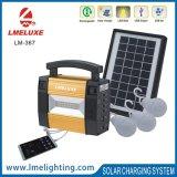 Многофункциональный солнечный сь свет для перемещения с 3 осветительной установкой шарика Lm-367 PCS СИД солнечной