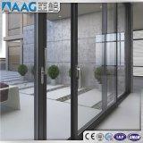 Алюминий/алюминий сползая Windows для гостиницы/дома коммерчески здания селитебной