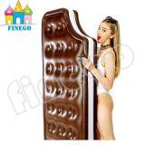 Раздувная игрушка поплавка кровати салона софы поплавка бассеина шоколада заплывания