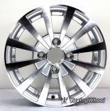 Оправы колеса алюминиевого сплава горячих сбываний 13 дюймов автоматические с гипер серебряной чернотой &Hyper