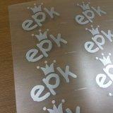 Hoja rígida de PVC transparente para el plegado de Verificación de rollos de plástico