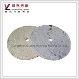 Revestimento de superfície de metal e moagem Sisal Cloth Polish Wheel