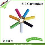 Cigarrillos cartucho desechable colorido Mini E 510 de rosca con diversos aromas