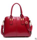 Sacchetti 2016 di spalla femminili delle borse del cuoio genuino di modo dell'OEM