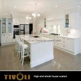 와니스 색칠 호화스러운 부엌 찬장은 별장 Tivo-074VW를 위한 가정 가구를 도매한다