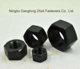 Noix Hex lourdes galvanisées d'ASTM A194 4L