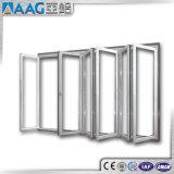 Porta deDobramento interior exterior de alumínio da vitrificação dobro