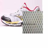 Do OEM do poliéster tela 100% de engranzamento para sapatas e sacos dos esportes