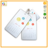 Cartão de papel personalizado de papelão personalizado