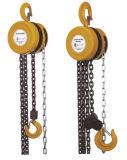 Hsz Chain Block, équipement de levage, levage à chaîne manuelle, outils à main, chaîne à main, levage manuel de la grue 0.5t-10t