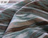 2016年に長い縞のソファーのジャカードファブリックデザイン