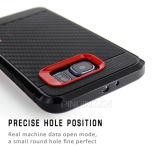 Прочная галактика S6 Samsung аргументы за телефона волокна углерода