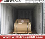 Bobine en aluminium d'enduit de PVDF dans la configuration en bois des graines pour l'extérieur