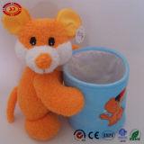 Draag de Container van de Pen van de Fles van de Opslag van de Pluche van het Stuk speelgoed voor Jonge geitjes