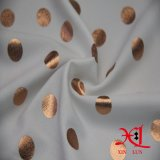 女性の服のための明白な染まるポリエステル軽くて柔らかいファブリック