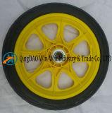 Roda contínua do poliuretano de 12 polegadas para pneumáticos de roda da cadeira de rodas