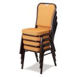 Cadeira de alumínio confortável para banquete