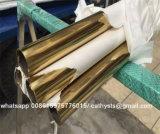 Tubo e tubo dell'acciaio inossidabile di colore dell'oro della Rosa del 201 specchio