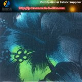 Estilo tropical tela impressa, tela de estiramento do poliéster, tela do Spandex para o vestuário (YH2135)