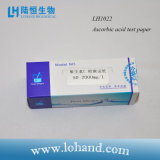 Papel de prueba de ácido ascórbico de la tira de prueba de la calidad del agua del laboratorio 100/Box