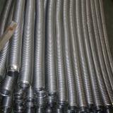 Tubo flexible acanalado del acero inoxidable