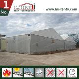 半永久的で強い産業倉庫のテントの解決