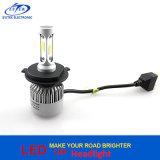 72W 8000lm 6500K H4 Hi/Lo S2 LED Auto-Scheinwerfer-Birne des Scheinwerfer-H1 H3 H16 H11 9005 mit Bridgelux PFEILER Chips