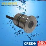 colore 1W che cambia della lampada subacquea approvata del Ce IP68 l'acciaio inossidabile LED