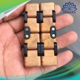 3 Farben-endloses Würfel-Quadrat-Unruhe-Würfel-Antistress Widerstand-Angst-Artefakt-erwachsenes Unbegrenztheits-Finger-Dekompression-Spielzeug