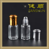 De Fles van het Parfum van het glas met Kroonkurk van het Aluminium