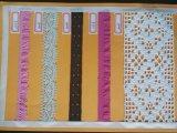 면 털실 레이스 자카드 직물 뜨개질을 하는 기계장치