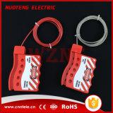 Nylon замыкание кабеля, с кабелем металла диаметра 3mm обшитым нейлоном, длина 1.8m