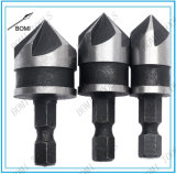 """1/2 """", комплект Bore зенковки 12/16/19 mm для бита изменения деревянного металла быстро"""