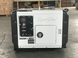 OEM 5kVA Diesel Silent Generator Paquete de Tres Fases de Madera