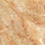 Mattonelle di ceramica di marmo della parete del Brown per la stanza da bagno