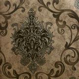 Intalian 작풍 PVC 벽지 꽃 다마스크천