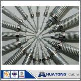 Cabo de alimentação Acs fio entrançado de aço revestido de alumínio para a sobrecarga de Alta Tensão Extra Conductor