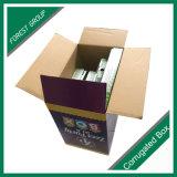 caixa de papelão de transporte de papelão de papel para o contratante Stuff