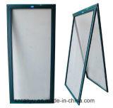 Diebstahlsicherer Fenster-Bildschirm-Aluminiumrahmen-ausgeglichenes Glas-schiebendes Fenster