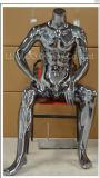 Mannequin masculino do cromo quente da venda para o vestido