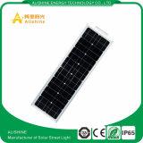 A energia conserva das luzes solares do jardim da lâmpada a luz de rua solar ao ar livre do diodo emissor de luz 12V 50W
